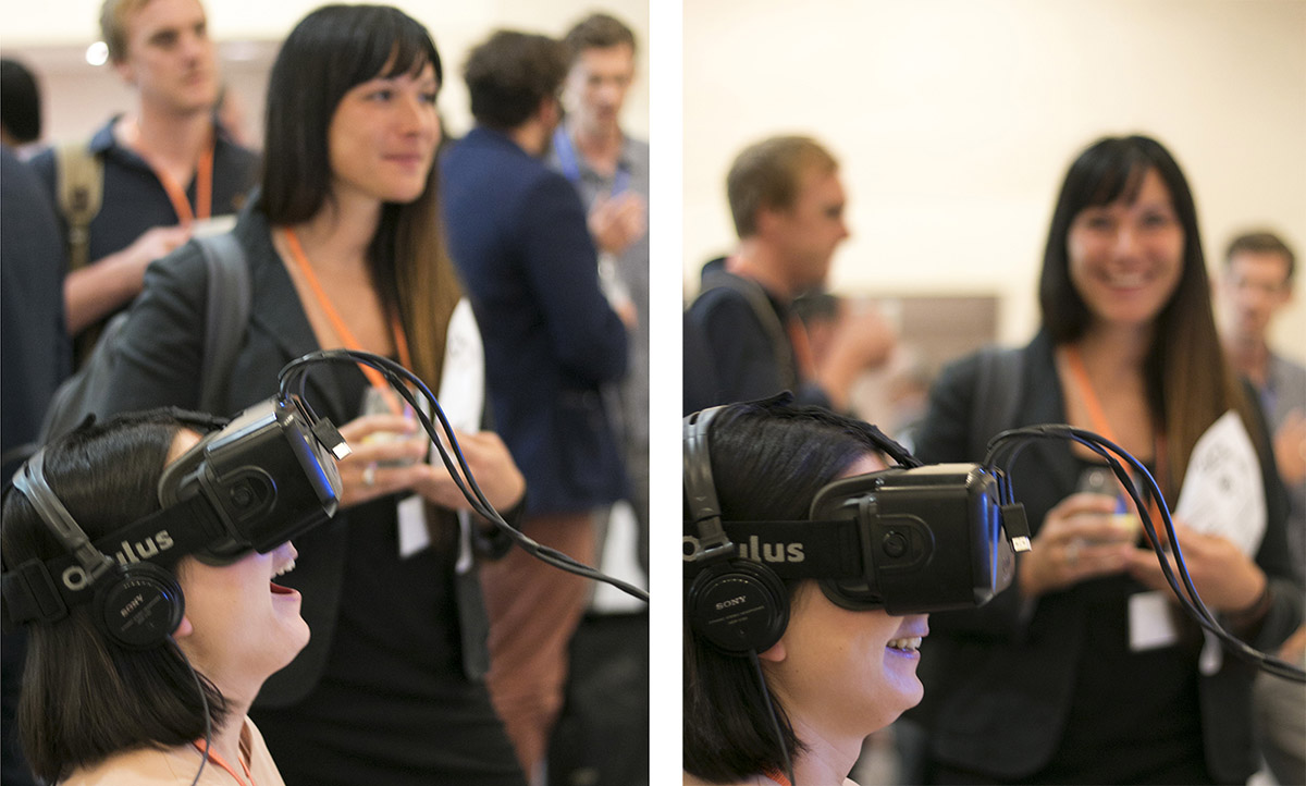 Virtual reality at the Knowledge Exchange Seminar at the British Museum
