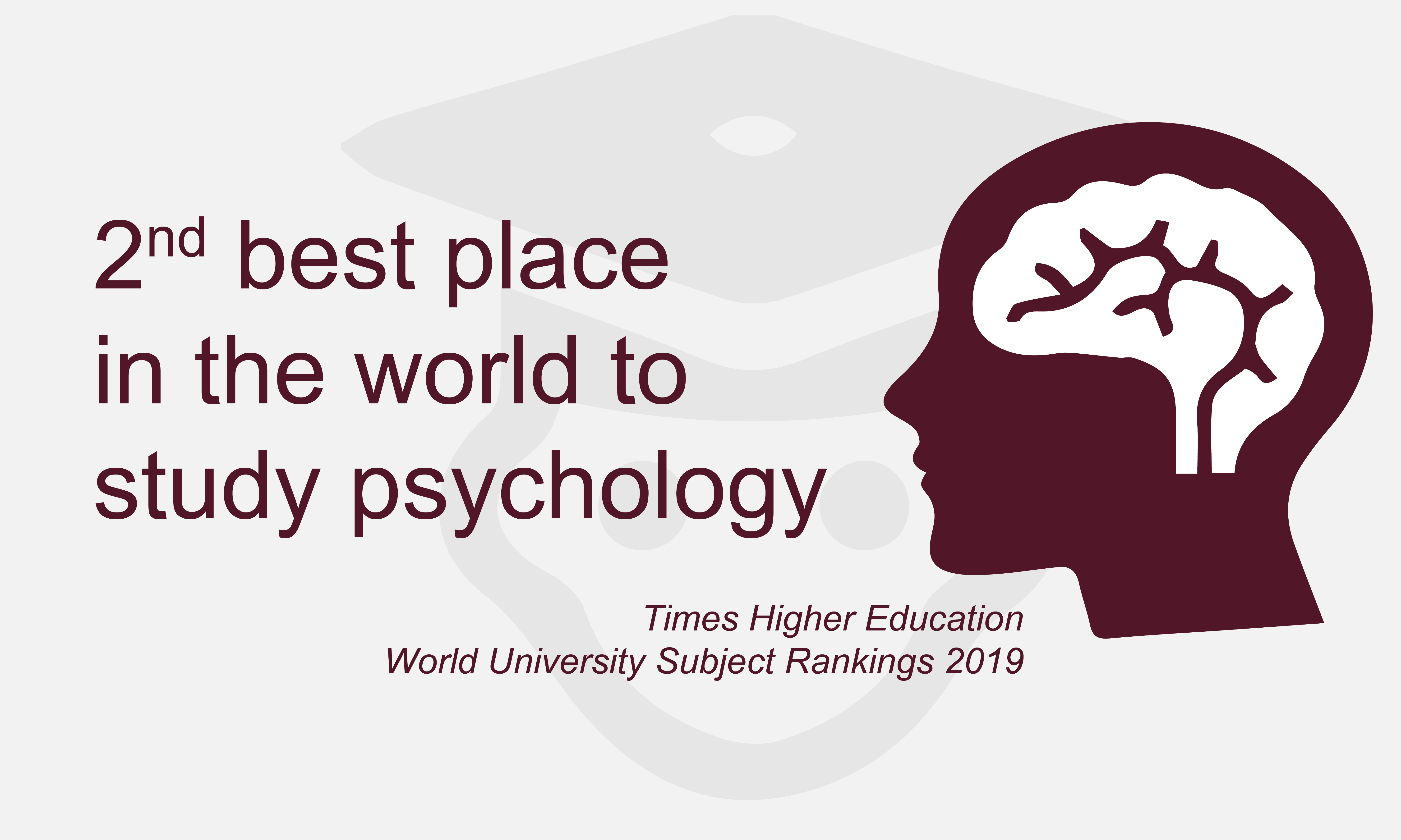 UCL is the 2nd best place in the world to study psychology