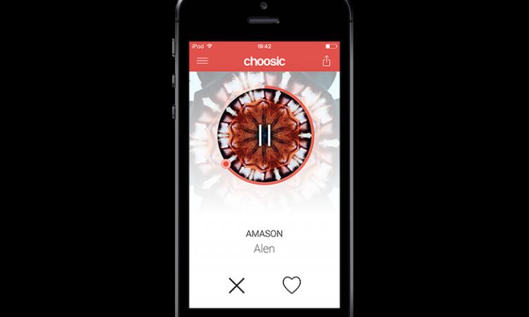 Choosic app