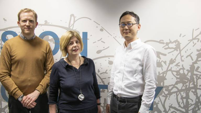 Andrew Sommerlad, Gill Livingston and Hideki Kanemoto