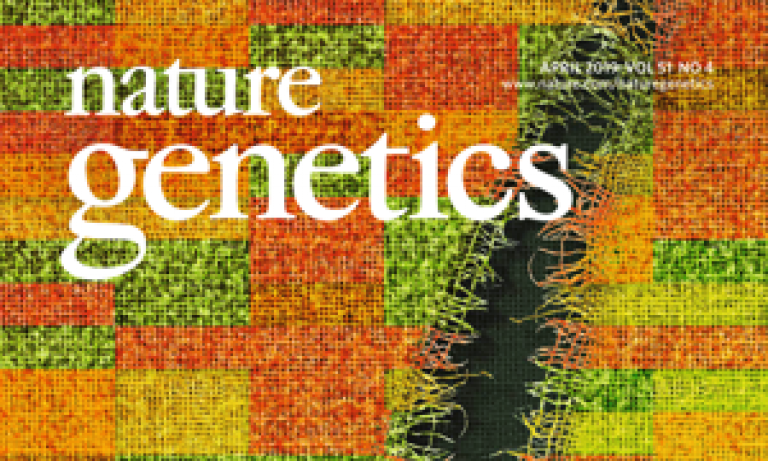 Nature Genetics front cover