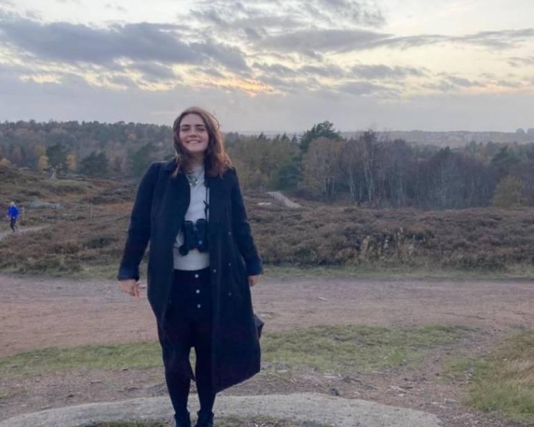 Hannah Biggs in Sweden