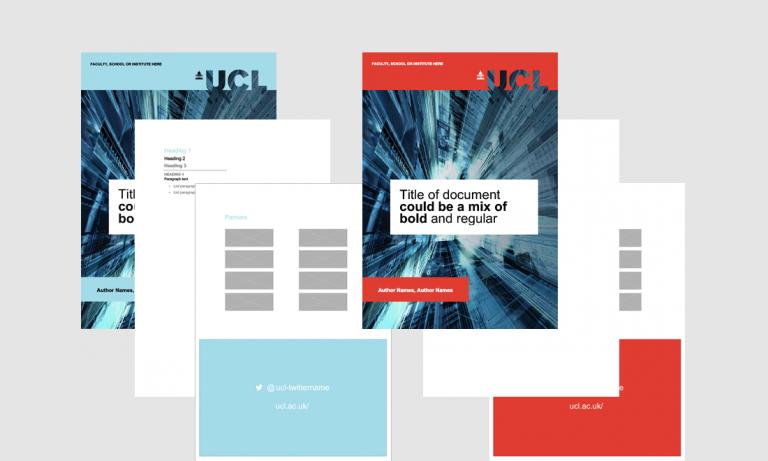 Templates | Communications & Marketing - UCL - London's Global