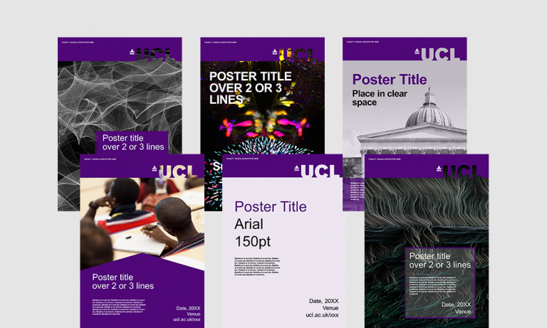 ucl powerpoint template - poster template pptx image collections template design ideas