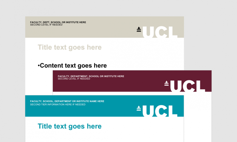 Templates | Communications & Marketing - UCL - London's