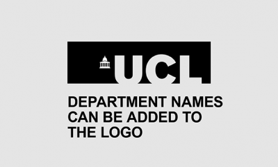 UCL logo for a department example