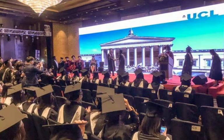 UCL Graduation Ceremony in Beijing