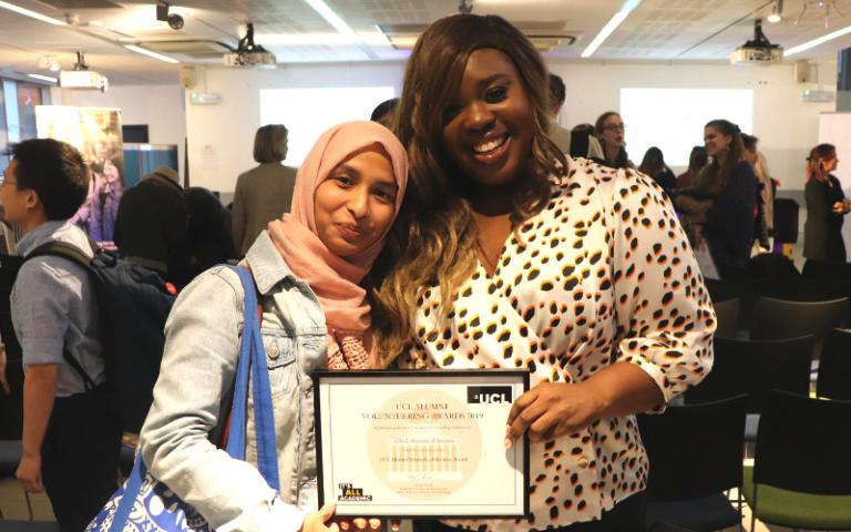 BME Alumni Network - Natalie Clue & Hajera Begum