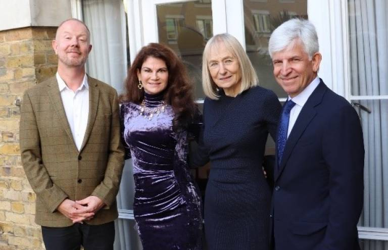 Founding supporters of the Aubrey Sheiham Scholarship Fund