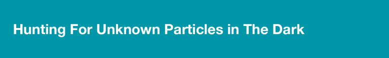 hunting for particles