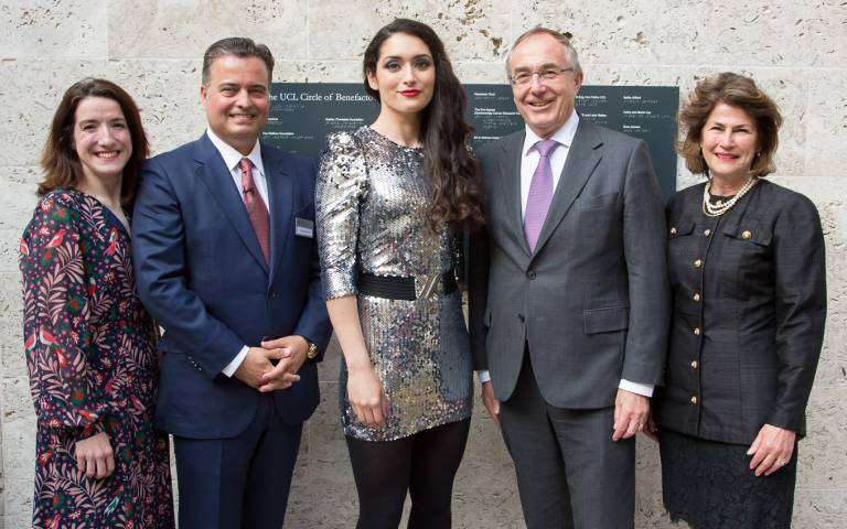 UCL unveils new Donor Wall