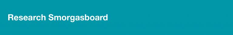 research smorgasboard