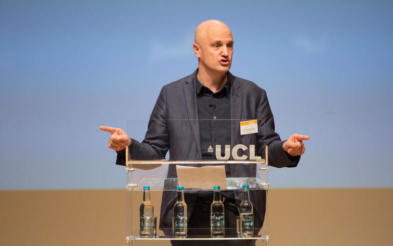 Professor Christoph Lindner, Dean of The Bartlett
