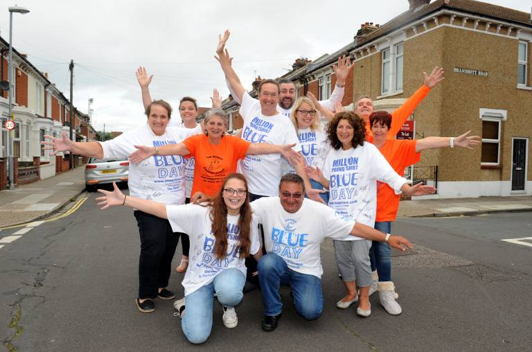 Tom Prince Cancer Trust Family Photo