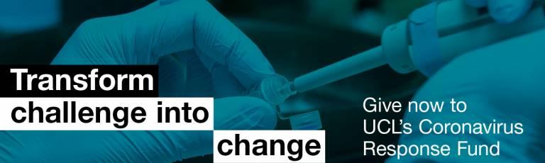 Transform challenge into change give now to ucls coronavirus response fund