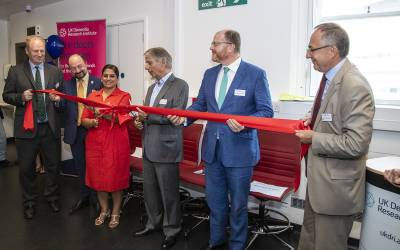 Ribbon Cutting at the launch of the UK DRI