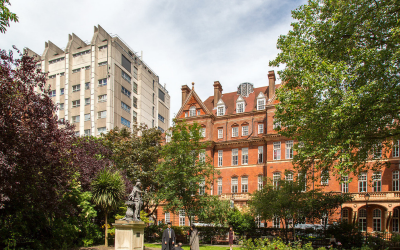Queens Square buildings, institute of neurology and leonard wolfson centre for experimental neurology