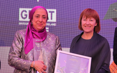 Maha Helali receives Social Impact Award
