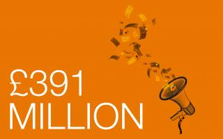 Campaign Total 391 million
