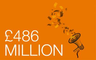 Campaign Total 486 million