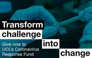 Support UCL's Coronavirus response fund