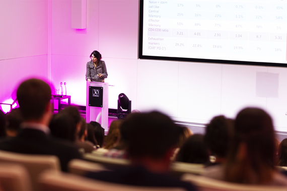 2018 CI and CRUK conference Dr Claire Roddie