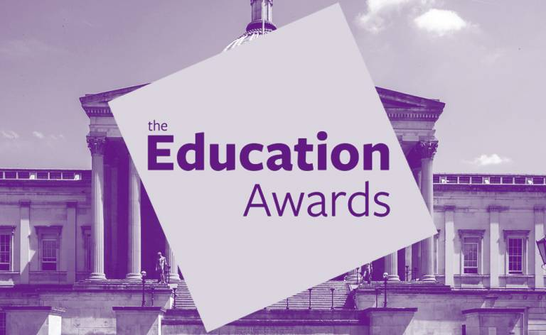 UCL Education Awards 2020