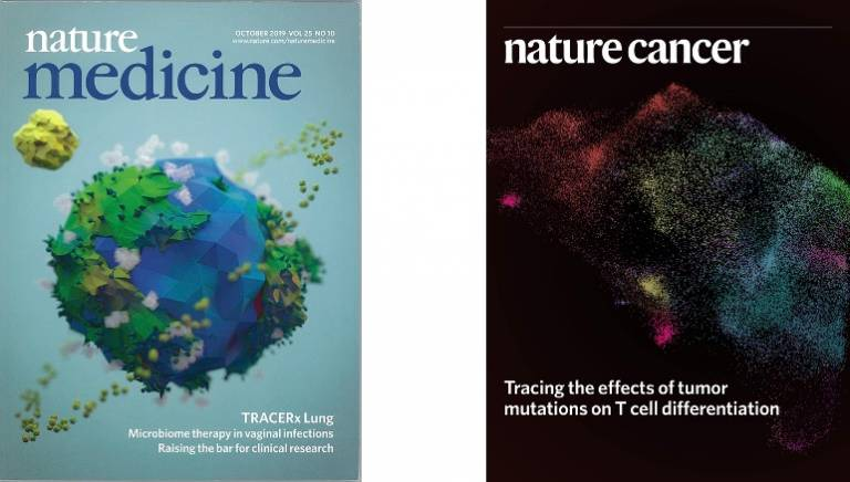 Quezada Lab Nature Covers 2019 and 2020