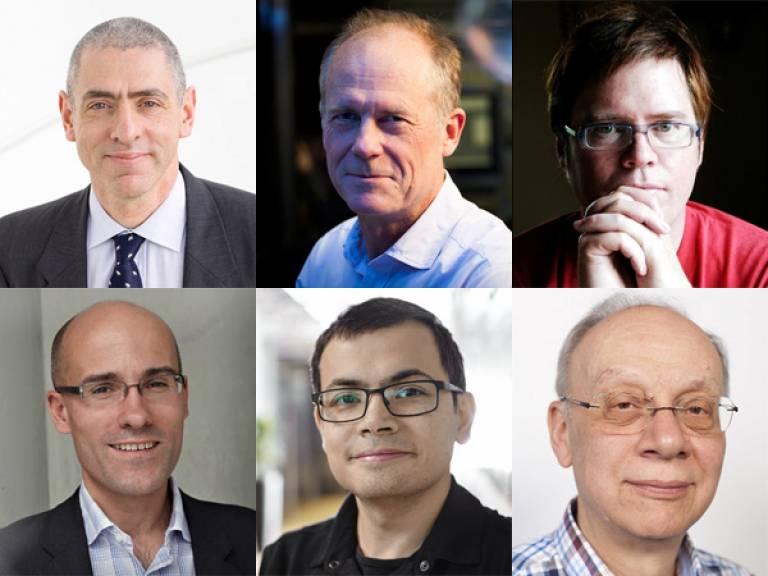 UCL Royal Society Fellows 2018