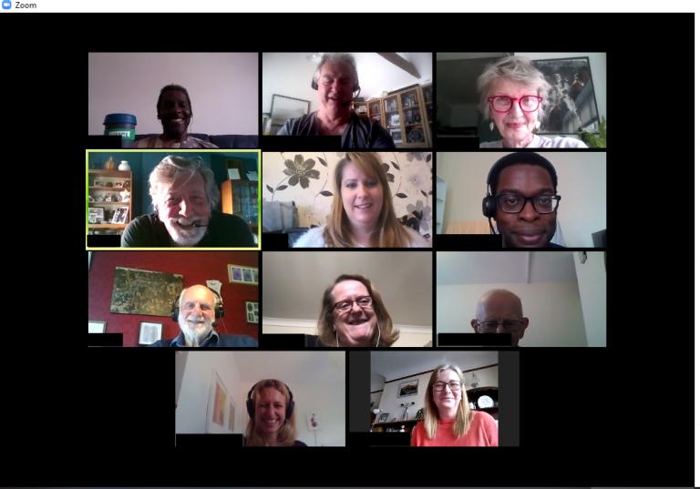Virtual UCL BTRU Lay Panel meeting