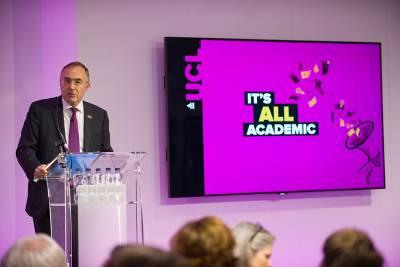 Professor Michael Arthur presents new UCL campaign…