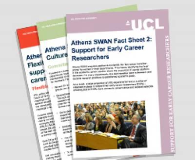 Athena SWAN factsheet…