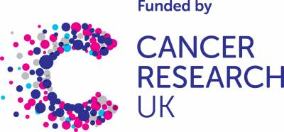 Funded by CRUK logo…