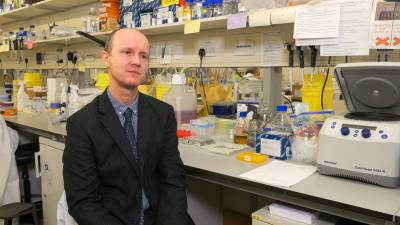 Image of Professor Karl Peggs in raconteur.net article