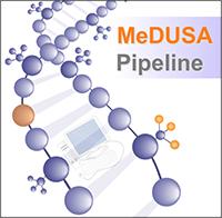 MeDuSA logo…