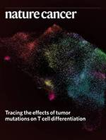 Nature Cancer journal cover May 2020