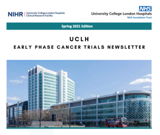 UCLH NIHR Clinical Research Facility Newsletter spring 2021