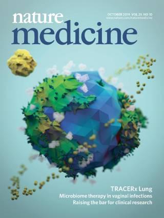 Nature Medicine Cover October 2019