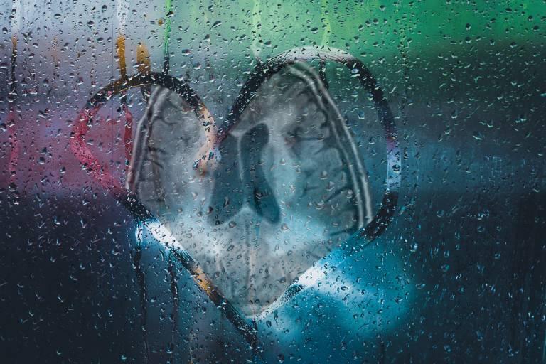 Brain in a window