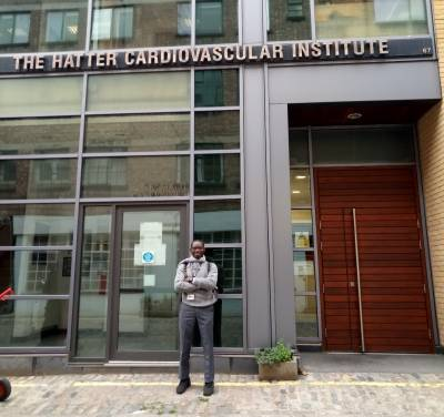 Ayodipupo Oguntade is a UK FCO/Chevening Scholar at the Institute of Cardiovascular Science, UCL
