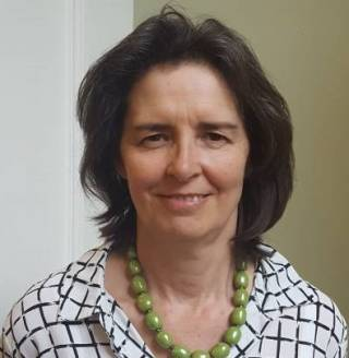image of professor Lucie Clapp who is head of preclinical and fundamental science