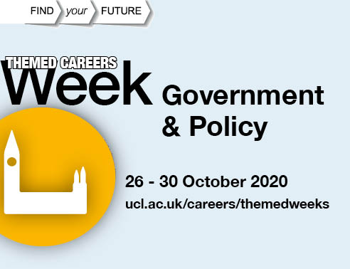 Government & Policy Week Dates