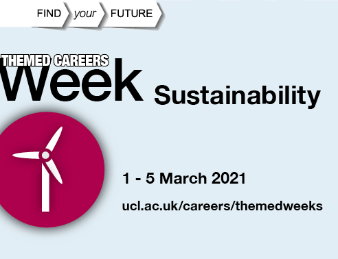 Sustainability week poster