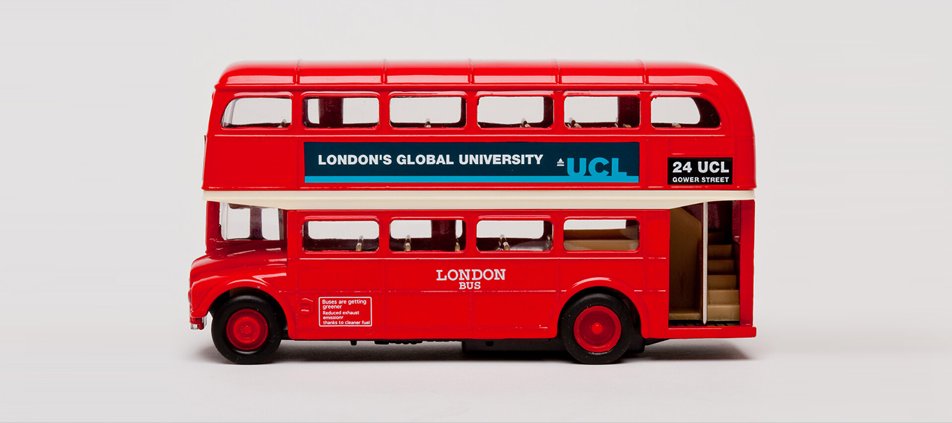 London red bus advertising Global Internships