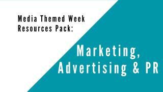 Marketing, Advertising & PR Resource Pack image