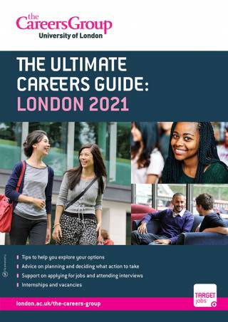 Careers Guide 2019/20 Front Cover
