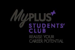 My plus students club logo