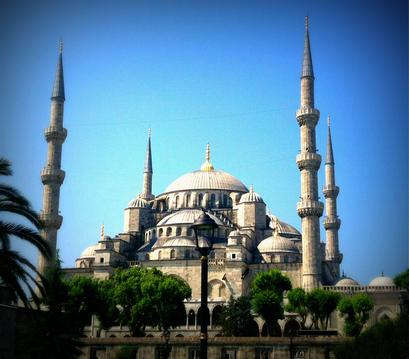 The Blue Mosque, Istanbul…