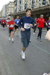Marc Marathon man…