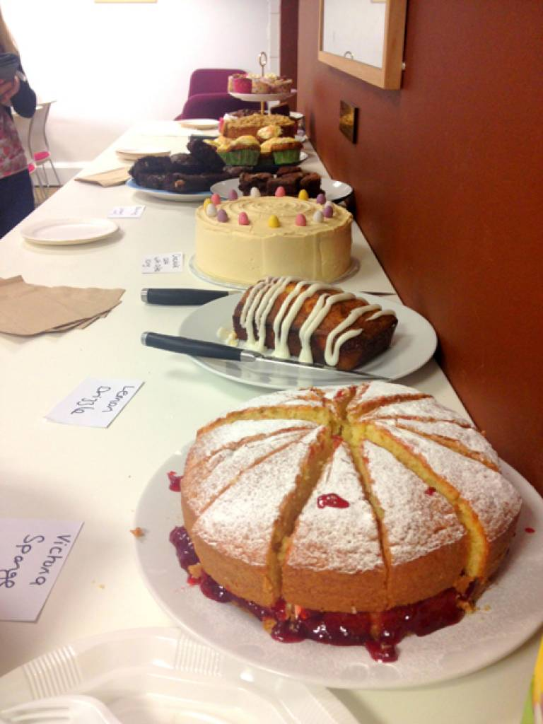 Cakes ready to be sold!…